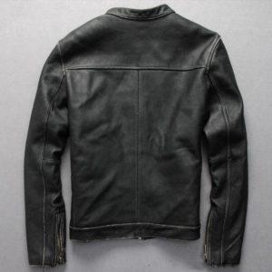 European 5XL 6XL Mens Genuine Leather Jackets Motorcycle Real Leather Jackets Male Cow Leather Overcoat 2019 New Arrivals A550