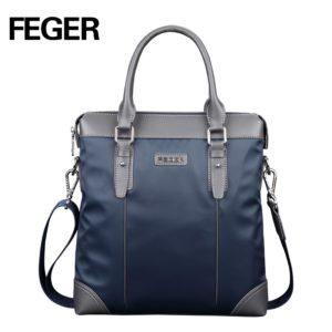 FEGER Fashion Men Messenger Bag Nylon Casual Shoulder Bag High Quality Office Bag Men Bags Free Shipping