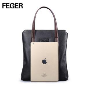 FEGER Women Vertical crossbody  bag Men Messenger Business Men's Briefcase Designer Handbags High Quality Shoulder Bags